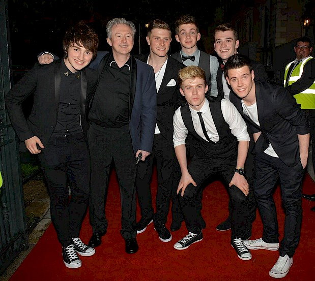Louis Walsh & Boyband Hometown