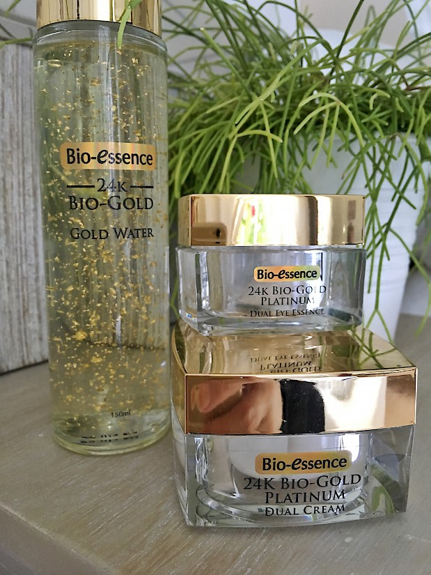 Bio-Essence 24K Bio-Gold Platinum Dual Cream - for day and night use!
